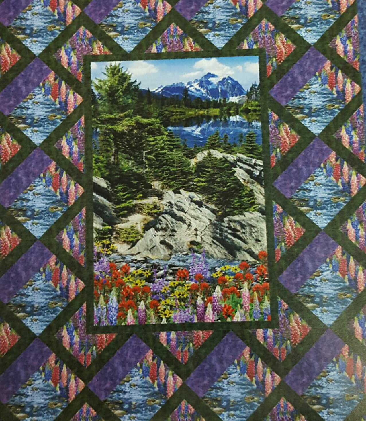 Botanical Trail Quilt Kit