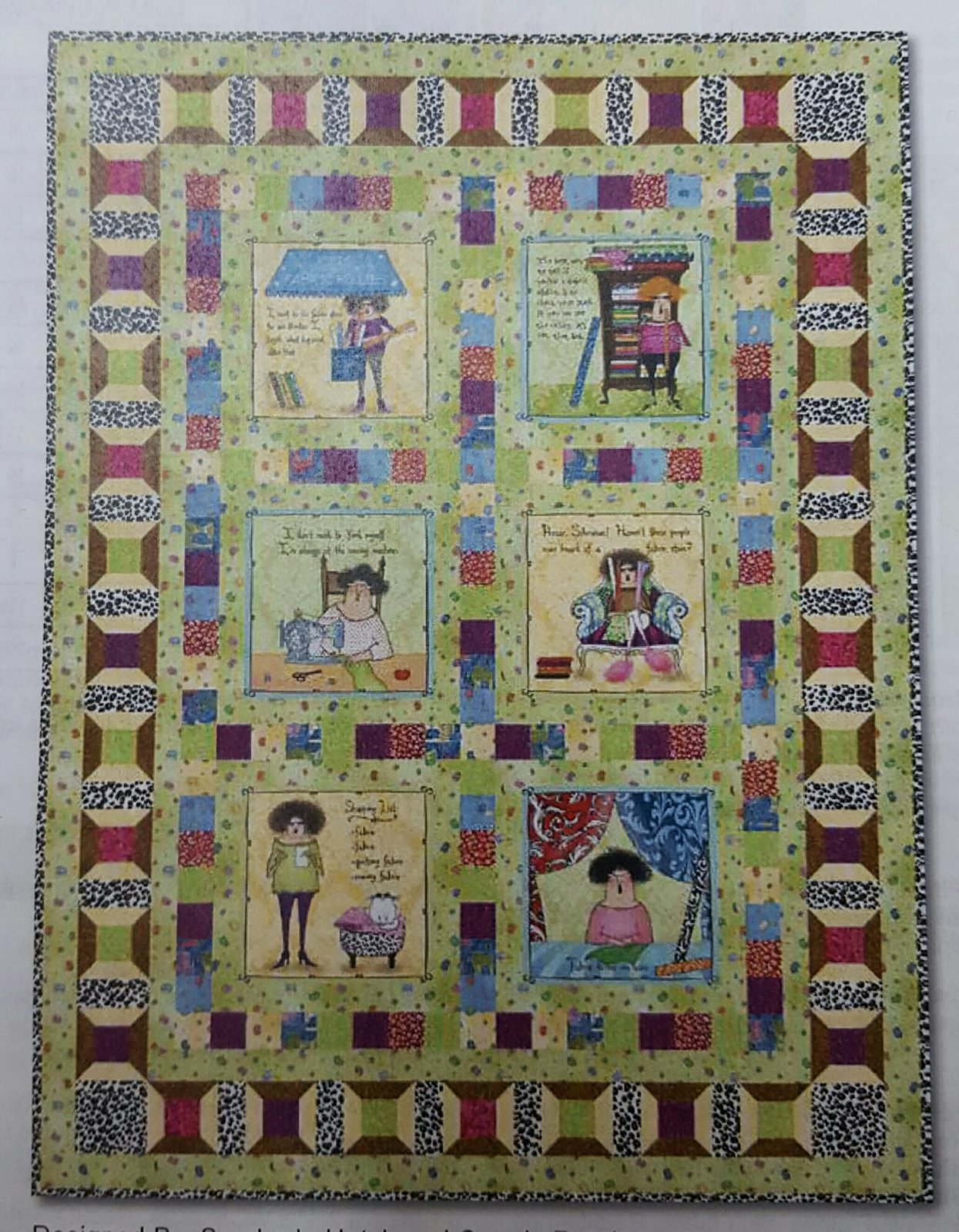 Fabric Follies Quilt Kit