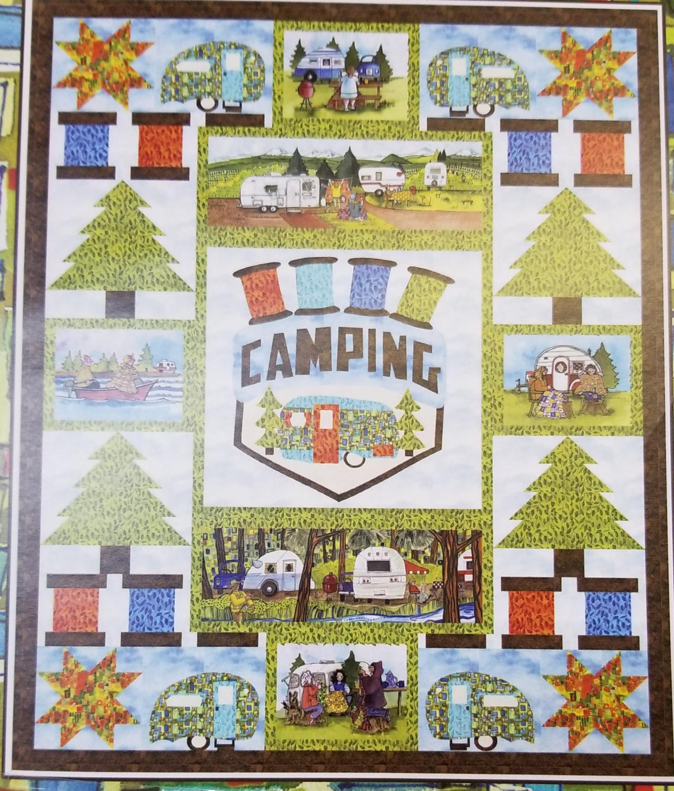 My Kind of Campin Quilt Kit