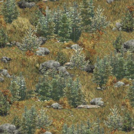 Deer Mountain (Tree Landscape) (F4816)