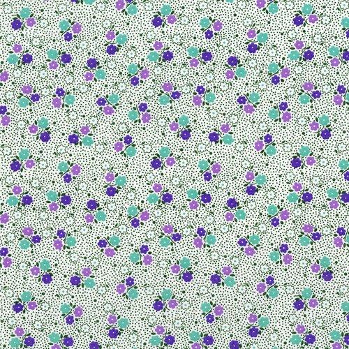 Everything But TheKitchen Sink-Posie Dot (Grape) (F6020)