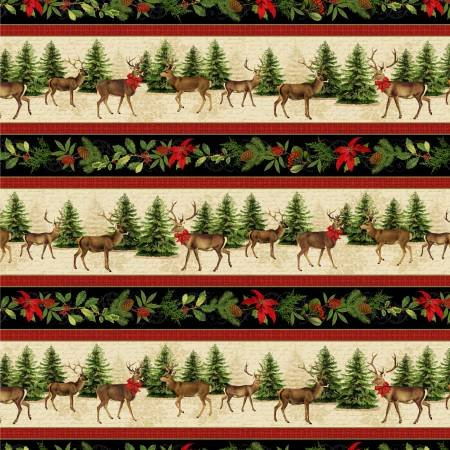 Festive Forest Multi Border (F10314)