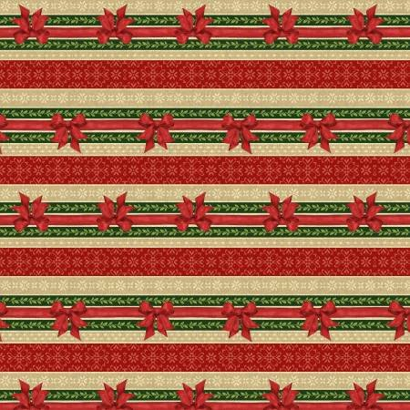 Festive Forest Red Ticking (F10317)