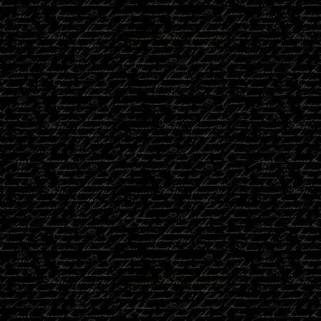 Festive Forest Black Script (F10320)