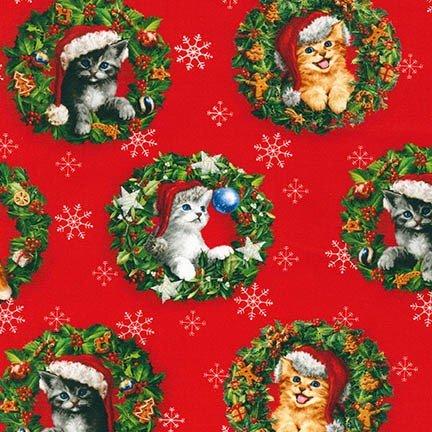 Christmas Pets Kittens (F5042)