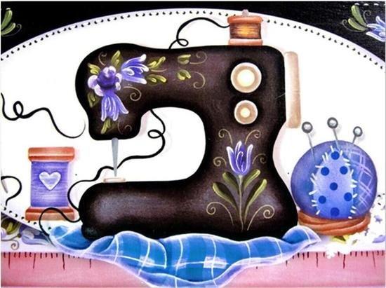 Diamond Kit - Sewing Machine Kit Blue