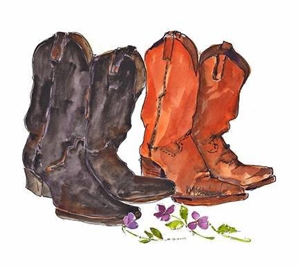 Boots N Flowers (PE093)