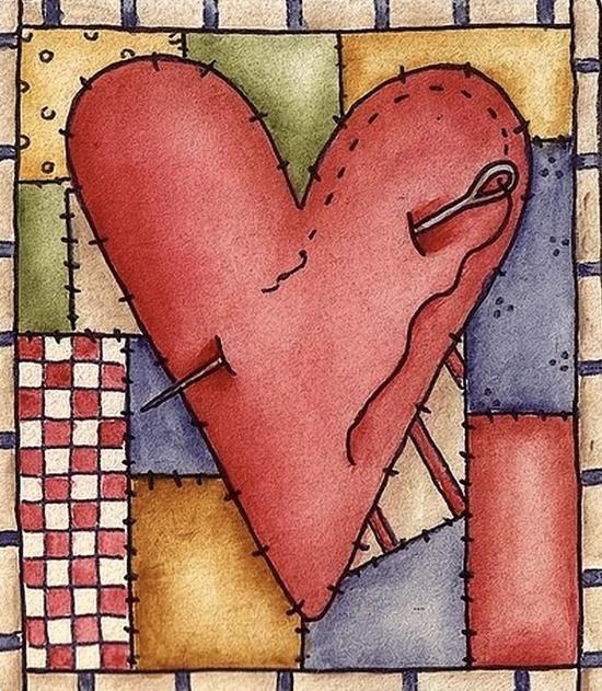 Diamond Kit - Patched Heart