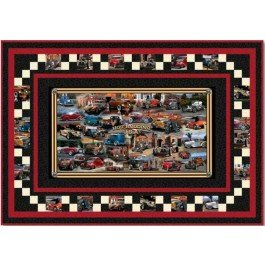 Hot Rodding USA Quilt Kit