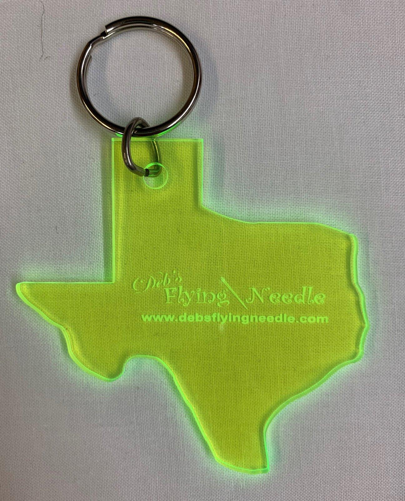 Keychain - Texas Acrylic