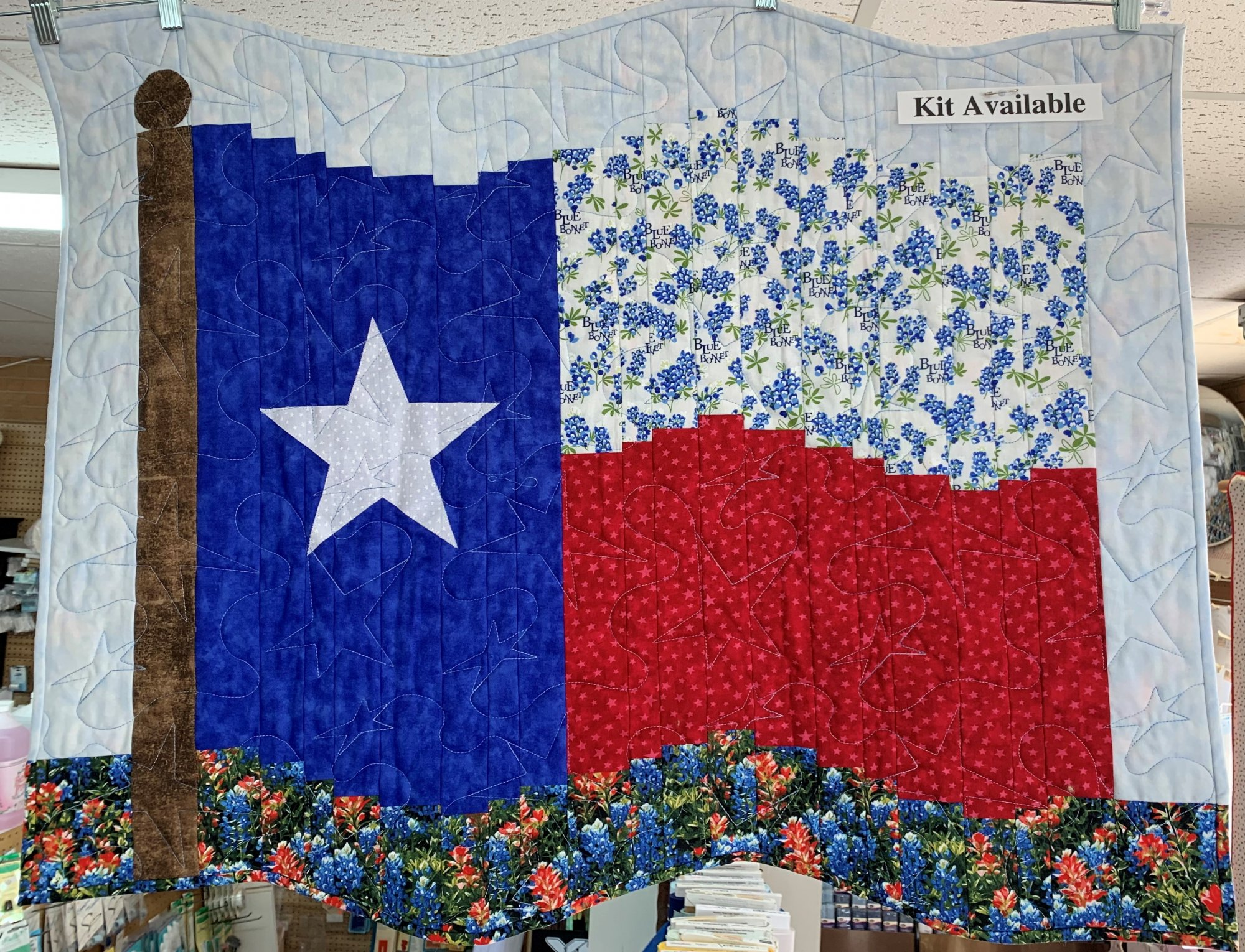 Fractured Flag Texas our Texas Kit