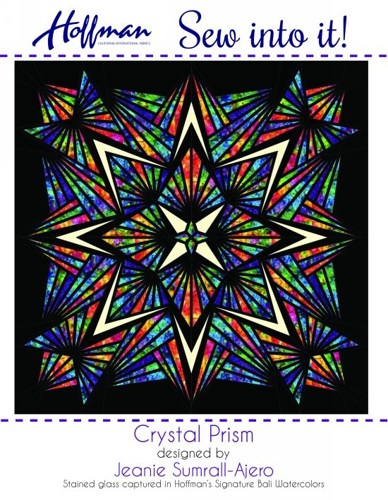 Sew into it! Crystal Prism Quilt Kit