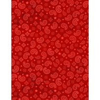 Learning the Ropes Bandana Print (Red) (W4490)