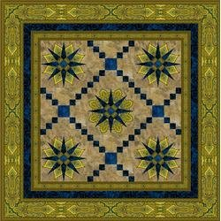 Renaissance Garden Quilt Kit
