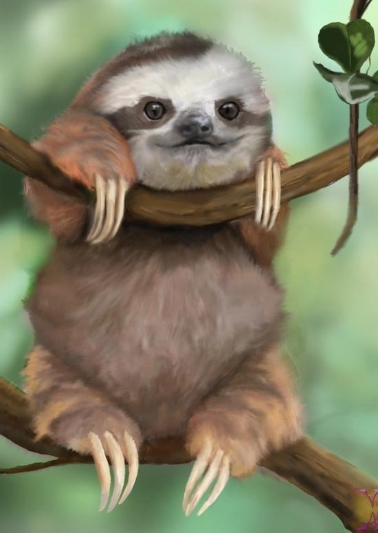 Diamond Kit - Sloth Round Beads