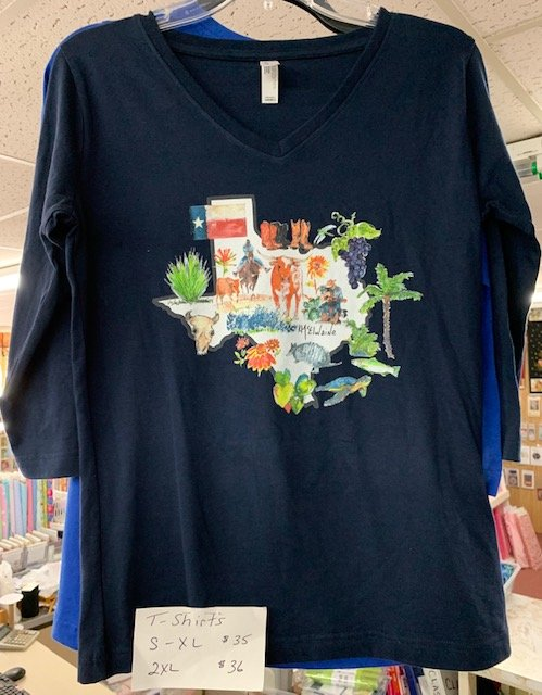 Texas At It's Best 3/4 sleeve t-shirt