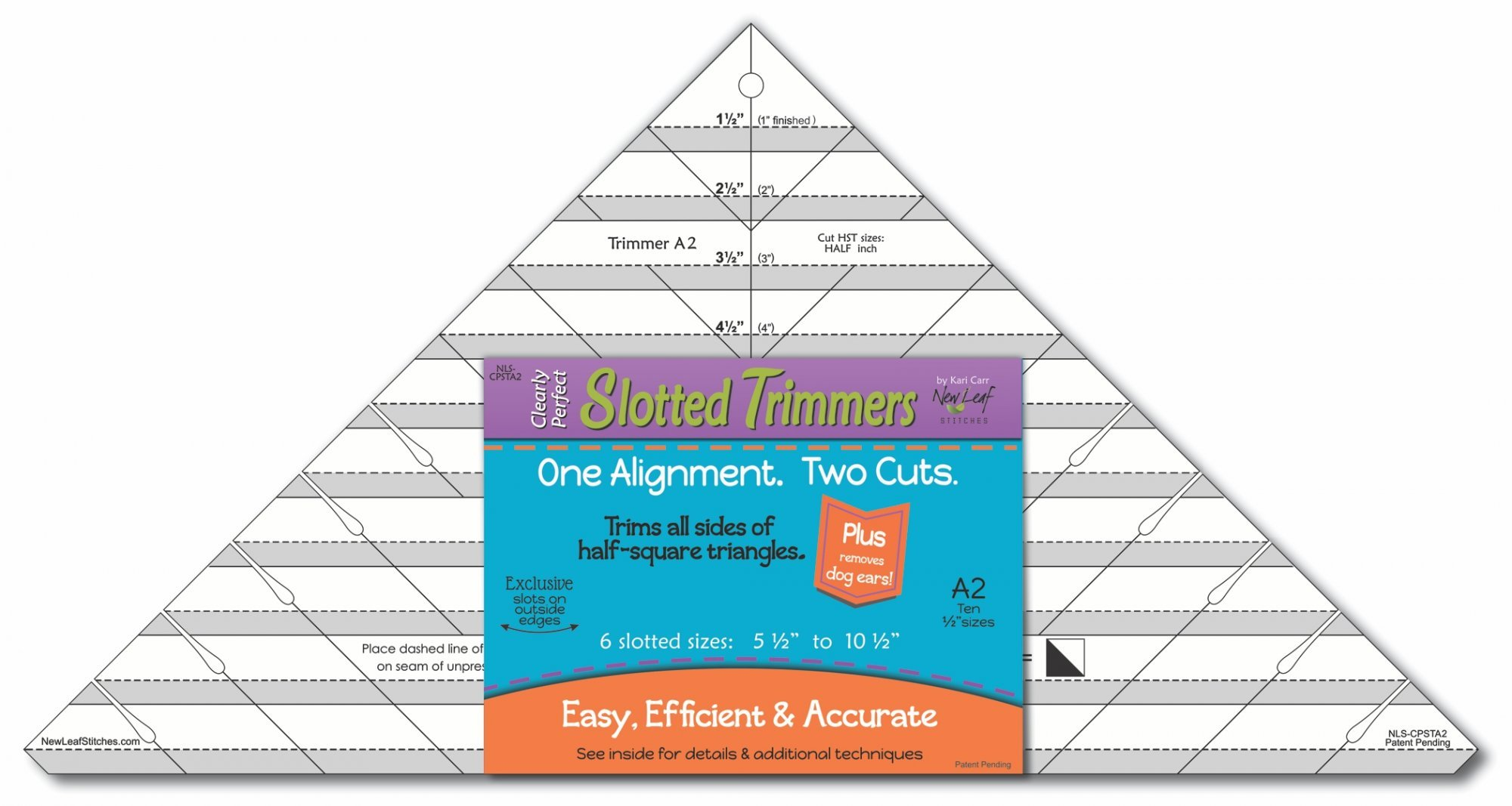 Clearly Perfect Slotted Trimmer A2