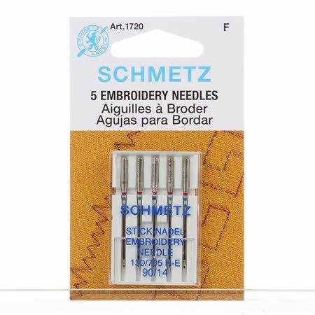 SCHMETZ NEEDLES EMBROIDERY  14/90