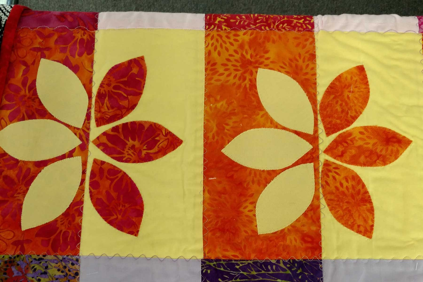 C)The Wall Flower Quilt