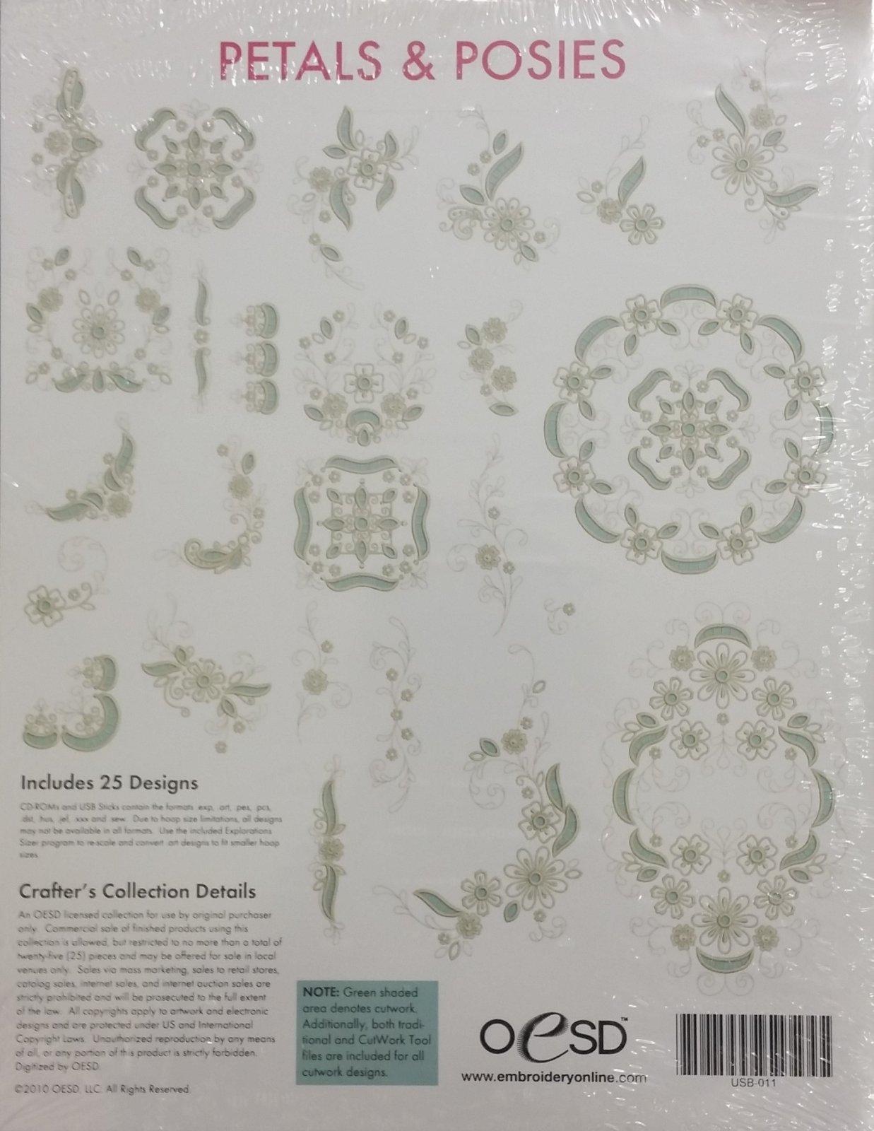 OESD Petals & Posies Embroidery Designs