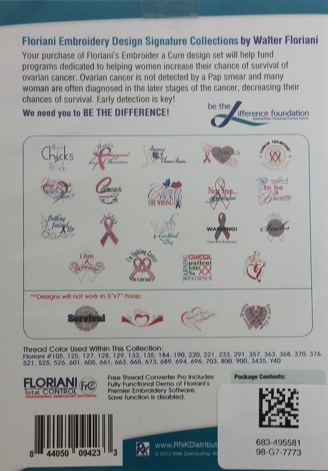 FLORIANI SIGNATURE EMBROIDER A CURE