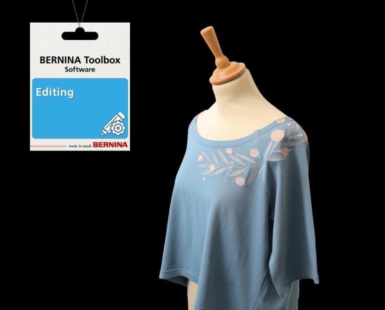 Bernina Toolbox Software- Editing