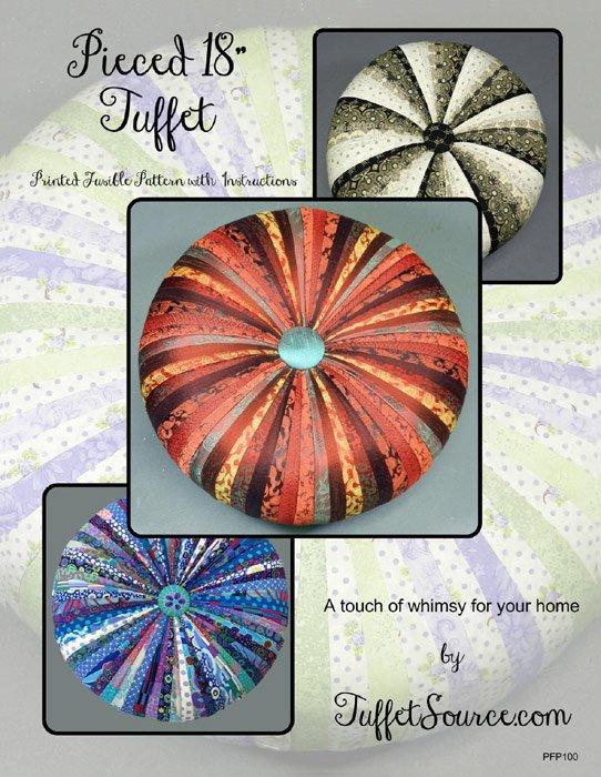 Round Tuffet Pattern w/Interfacing