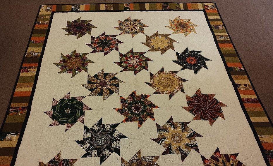 Kaleidoscope Pinwheel Stack N Whack