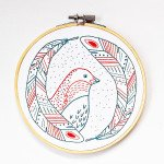 Embroidery Kit Bird Of A Feathr