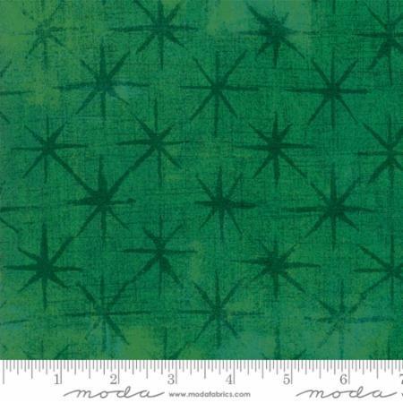 Grunge Seeing Stars Green