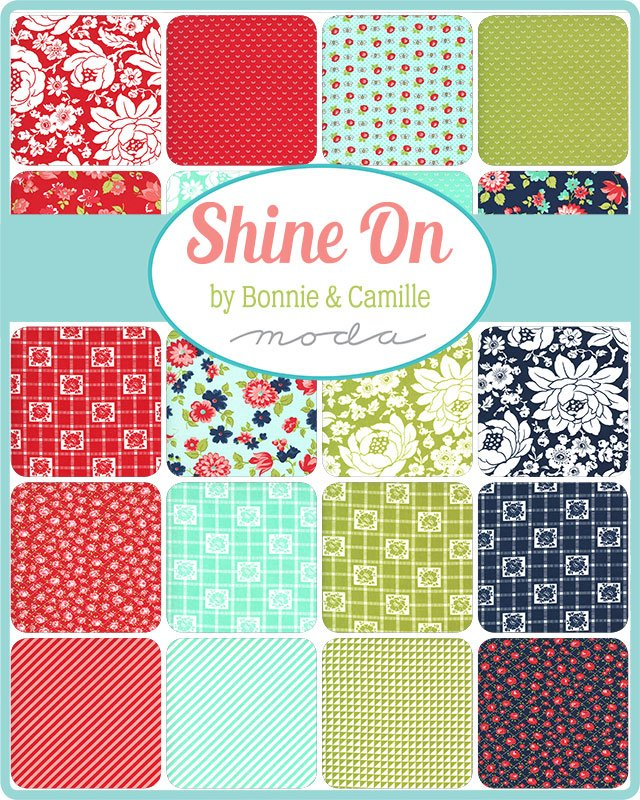 Moda - Bonnie  & Camille - Shine On 9 x 22 40pcs