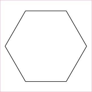 1in Hexagon Papers (50 pieces per bag)