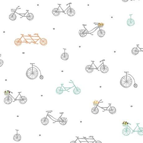 Scenic Route - Bikes White