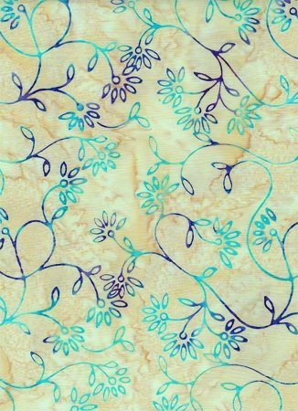 Batik Celestial Blossoms (3738)