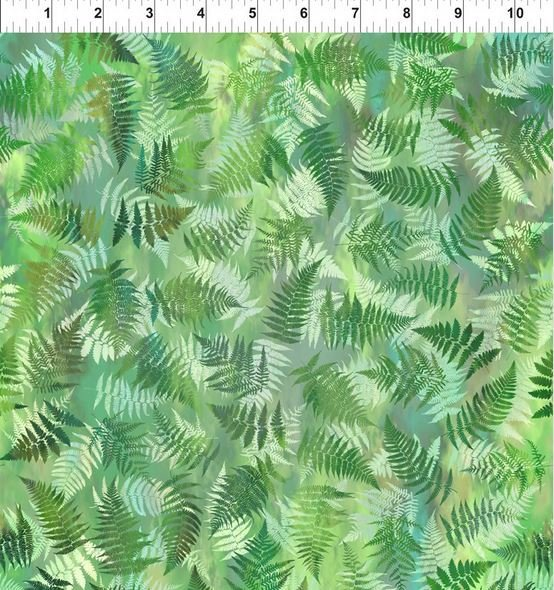 Garden of Dreams Ferns Spring Green