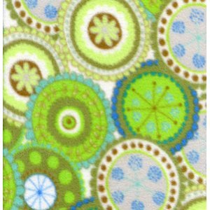 Bliss Medalion Fleece-Green