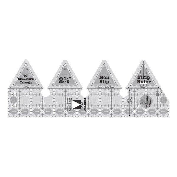 60 Degree Triangle Strip Ruler