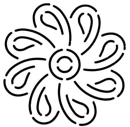 Quilt Stencil Medallion
