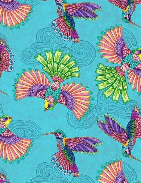 RF Birds A/O Teal