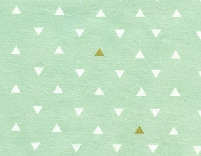 Triangle Tokens Metallic Voile - Arizona by April Rhodes