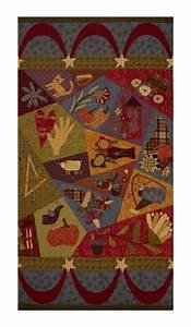 Autumn Song Patchwork panel