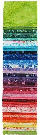 Rainbow Batik 2-1/2 strips
