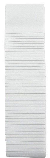 Zinc White Strips 2-1/2