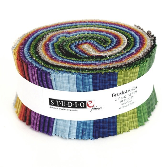 Brushstrokes Jelly Roll