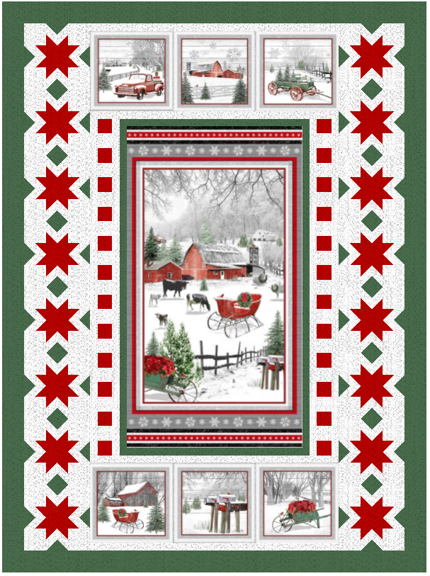 Holiday Homestead Pattern - PDF Version