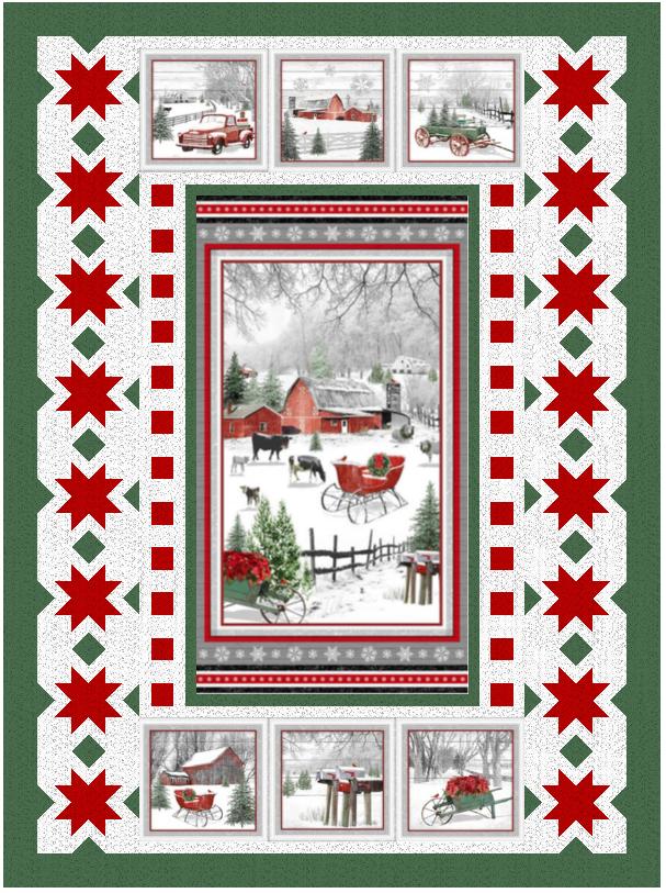 Holiday Homestead Pattern - PDF Version