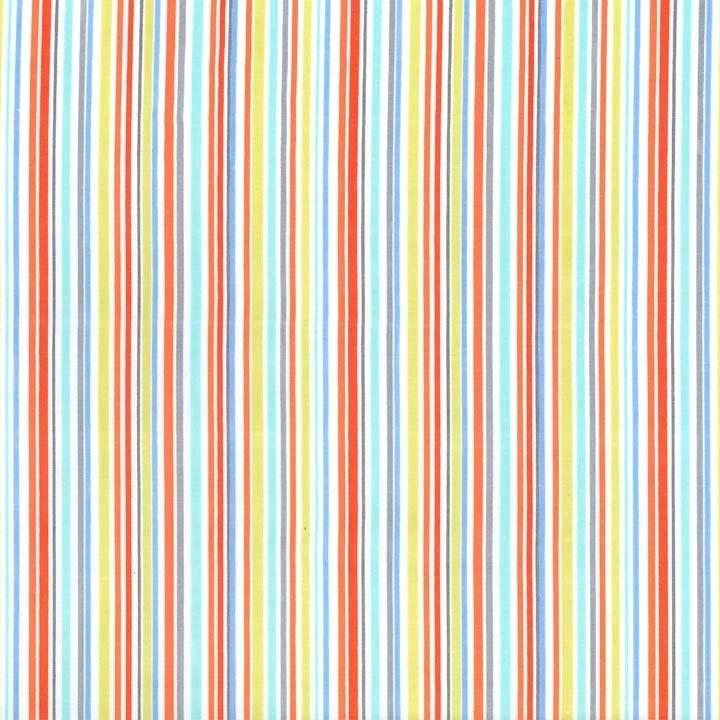 Slender Stripe - Blue