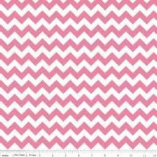 Chevron Knit-Hot Pink