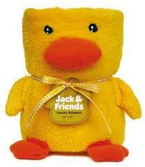 Duck Cuddly Blanket 30 x 45