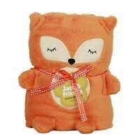 Fox Cuddly Blanket  30 x 45